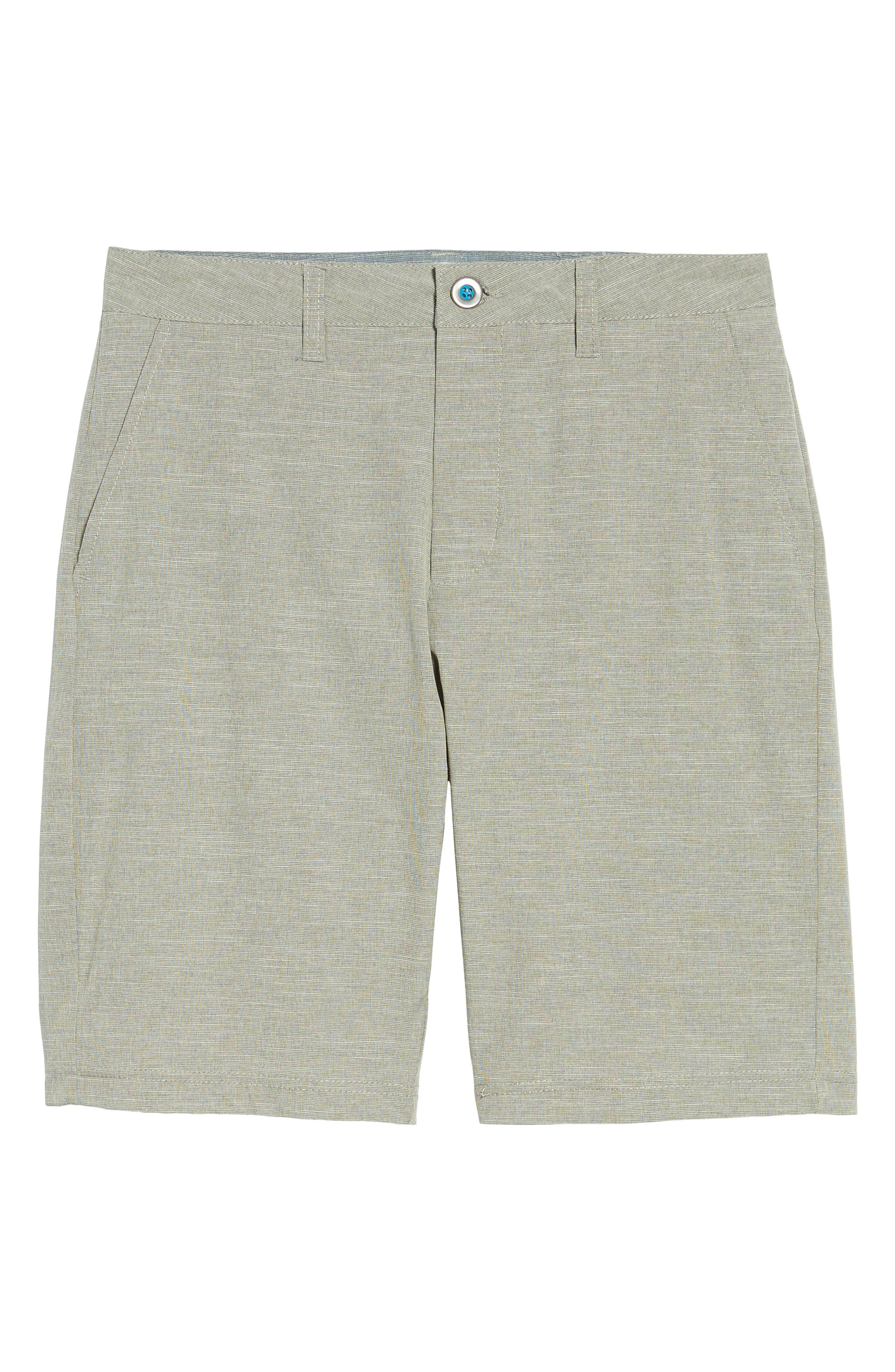 ,                             Cruiser Hybrid Shorts,                             Alternate thumbnail 6, color,                             STEEL