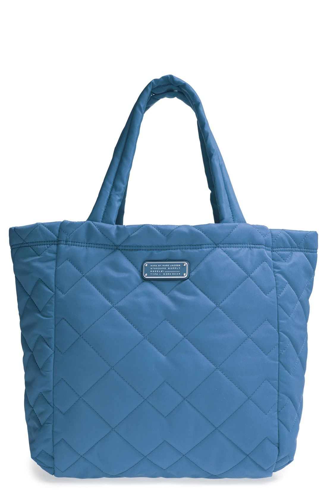 ,                             MARC BY MARC JACOBS 'Crosby' Quilted Nylon Tote,                             Main thumbnail 2, color,                             400