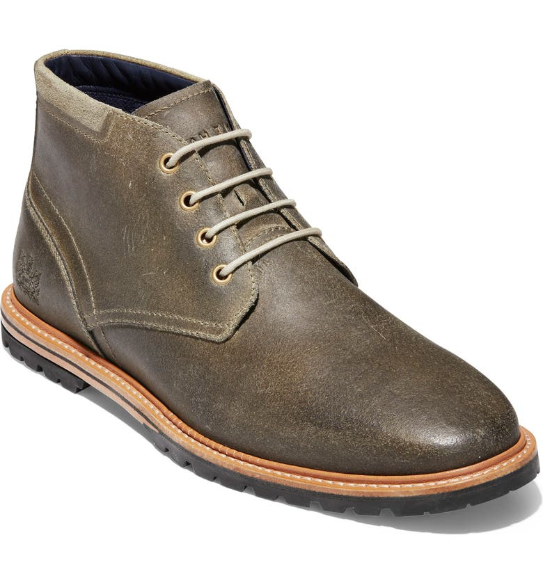 COLE HAAN Raymond Grand Chukka Boot, Main, color, SOFT SAGE LEATHER