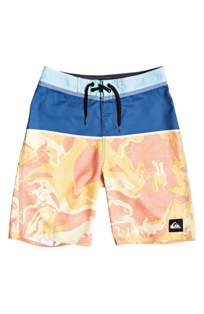 QUIKSILVER Everyday Down Under Board Shorts, Main, color, TRUE NAVY
