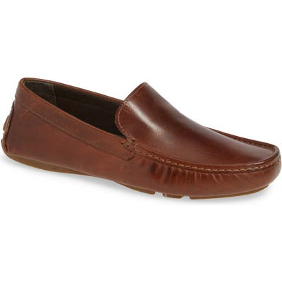 L.b. Evans Alton Driving Shoe, Brown