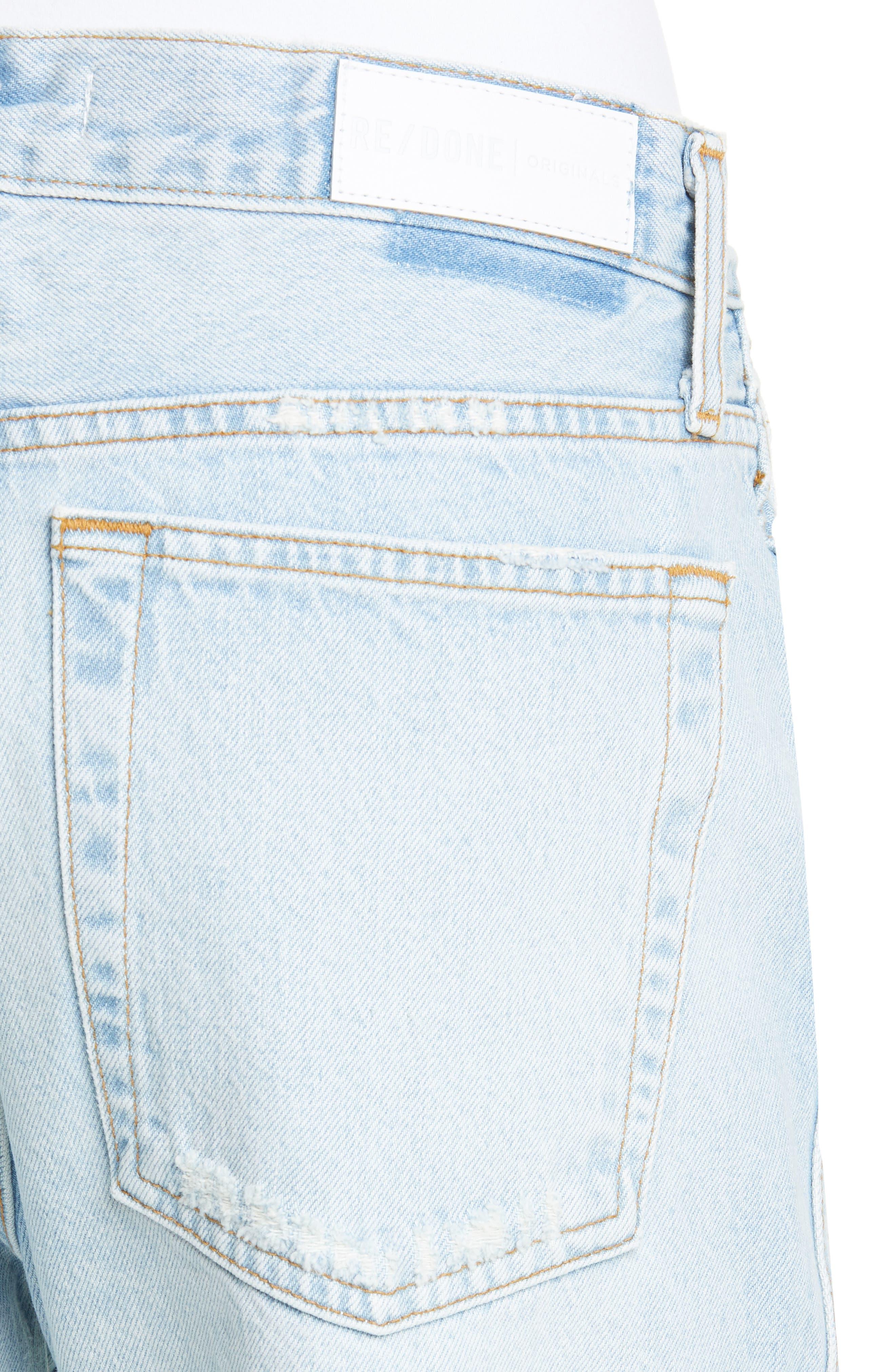 ,                             Low Slung Jeans,                             Alternate thumbnail 5, color,                             LIGHT 04