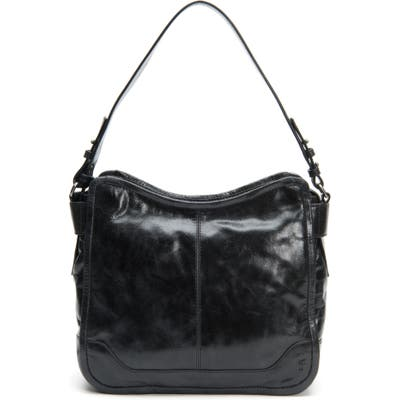 Frye Mel Leather Hobo Bag - Black