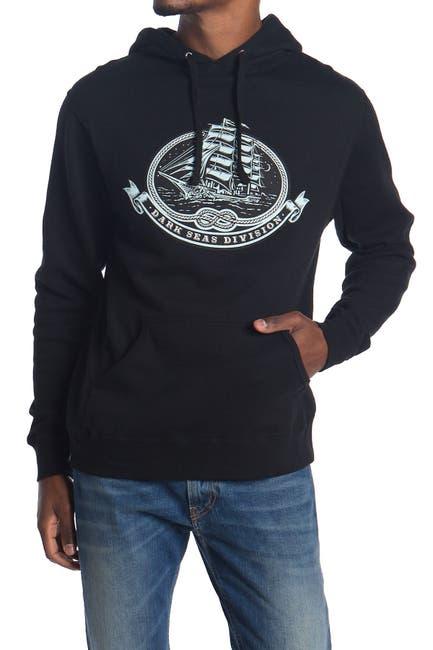 Image of DARK SEAS Sacred Craft Graphic Drawstring Hoodie