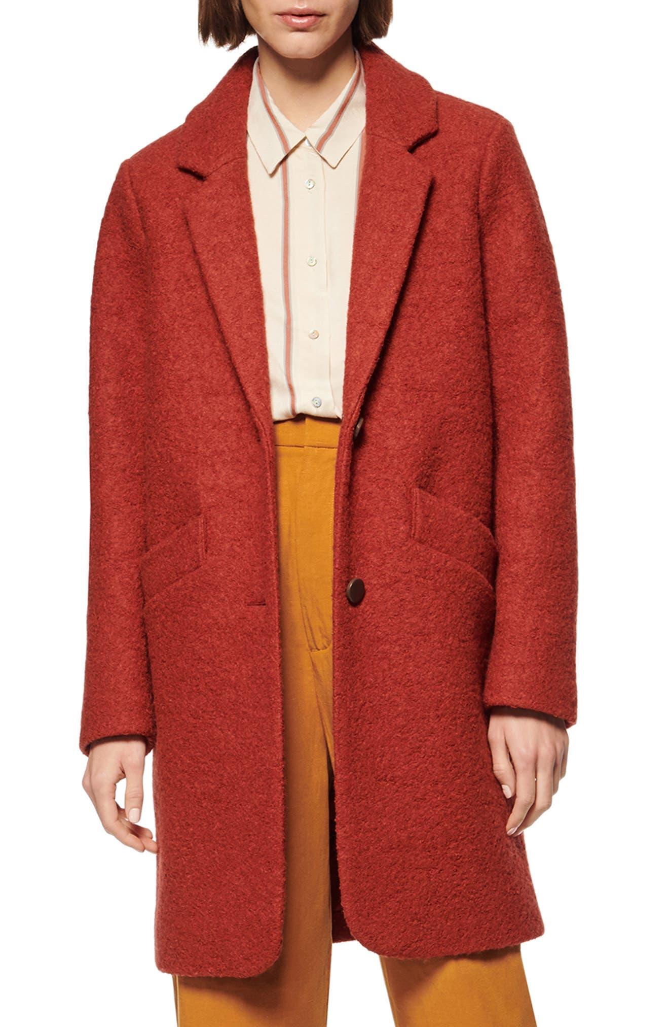 Marc New York Paige Bouclé Coat
