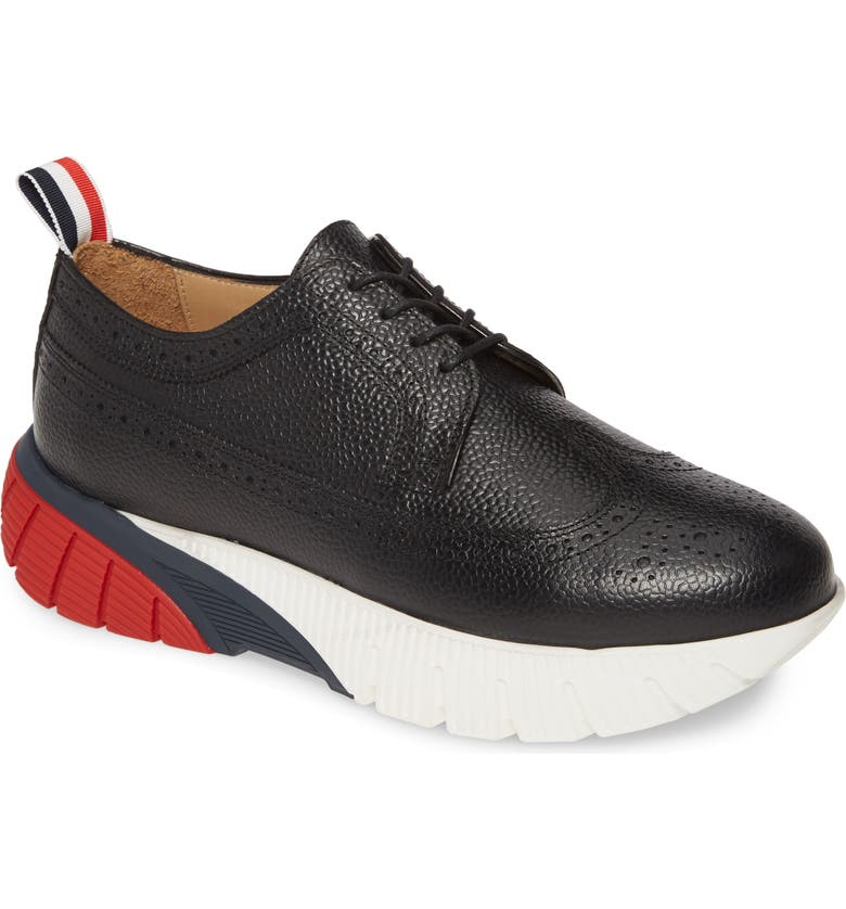 THOM BROWNE Longwing Derby, Main, color, BLACK