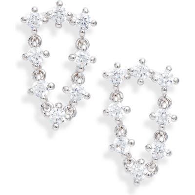 Nadri Issa Cubic Zirconia Drape Earrings