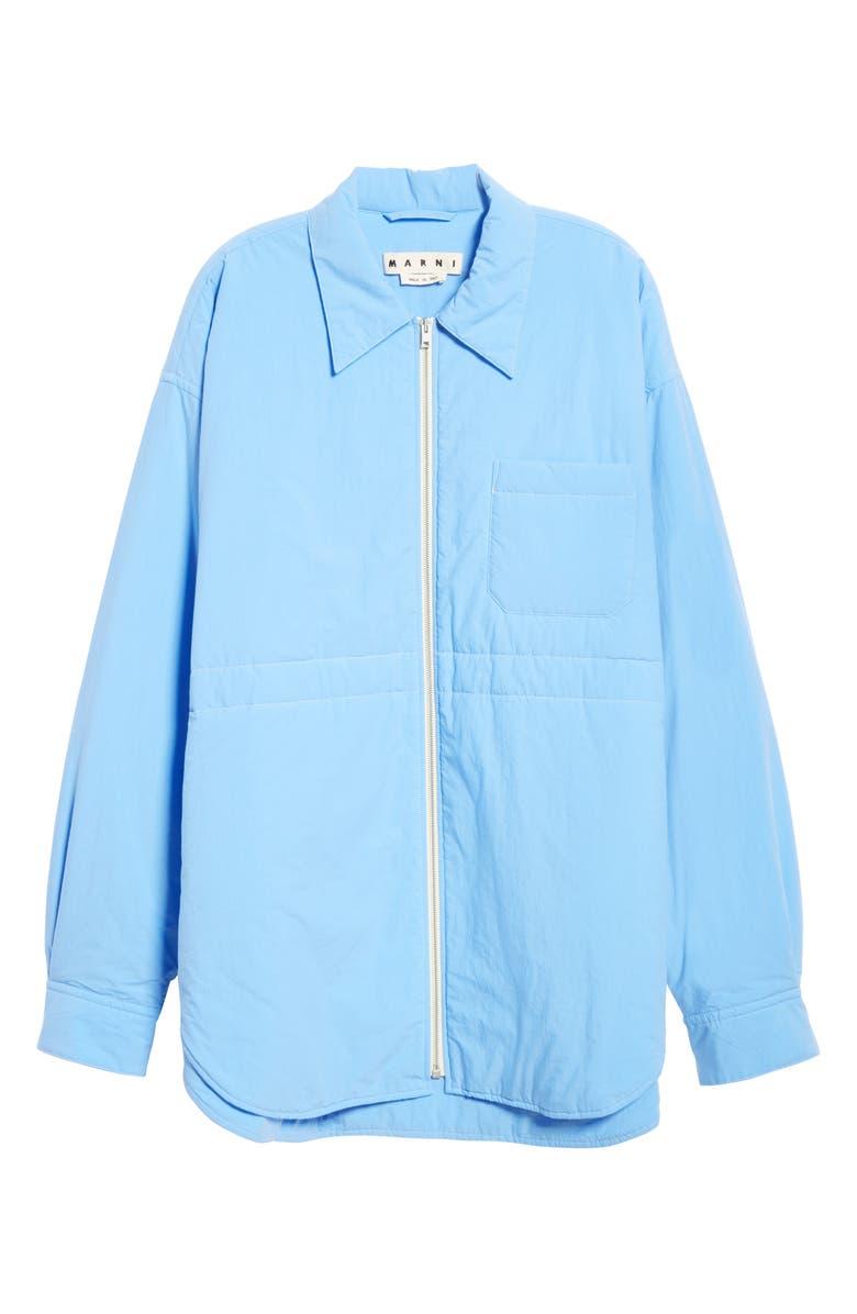 MARNI Shirt Jacket, Main, color, LIGHT BLUE