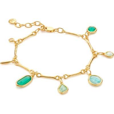 Monica Vinader Siren Tonal Charm Shaker Necklace