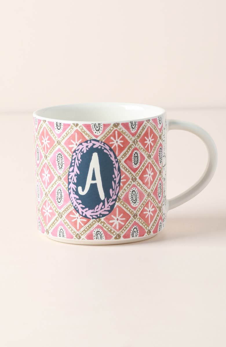 ANTHROPOLOGIE Jo Stoneware Mug, Main, color, A