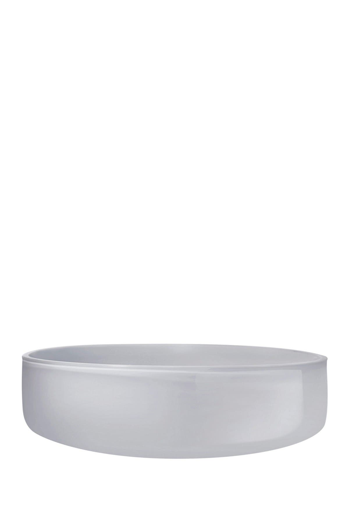 Image of Nude Glass Midnight Bowl - Small - Opal Grey