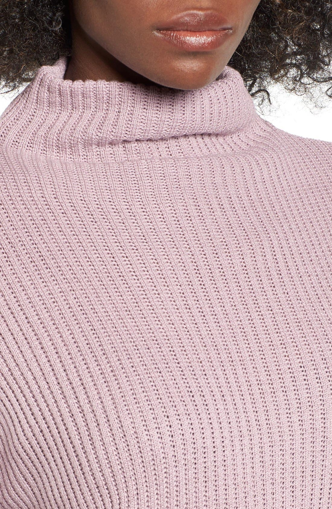 ,                             Mock Neck Sweater,                             Alternate thumbnail 29, color,                             530