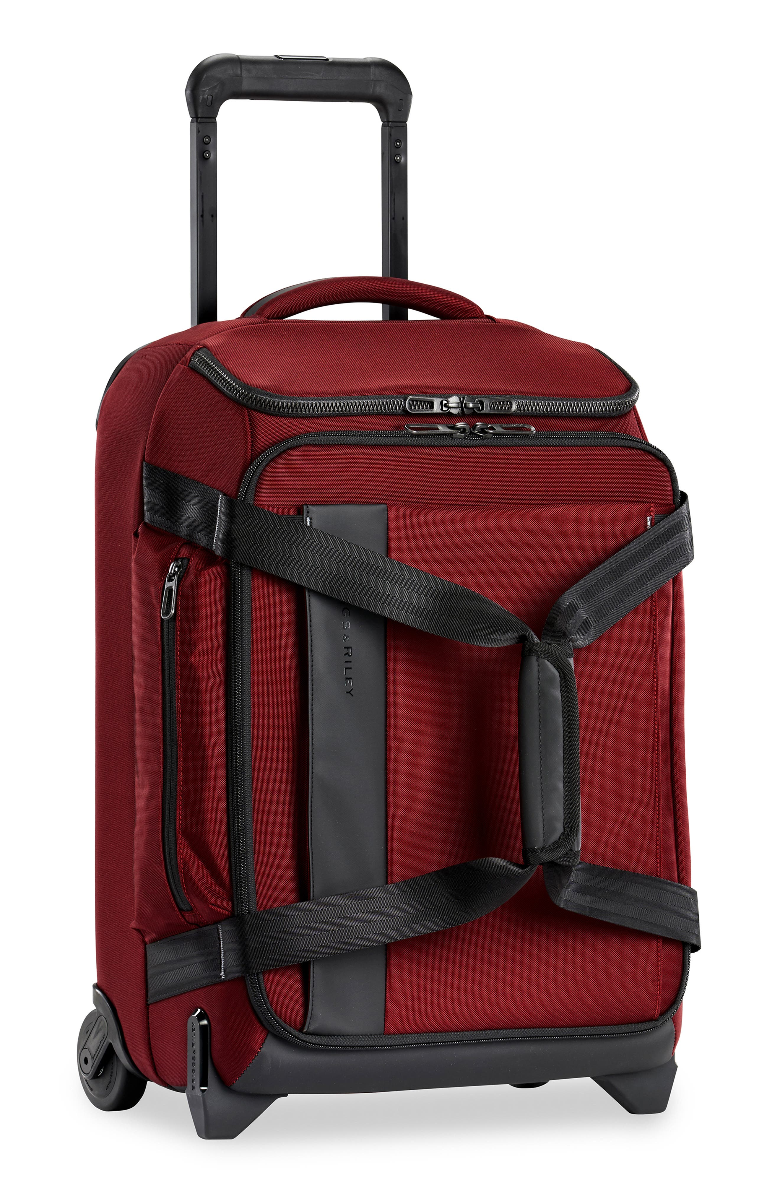 Zdx 21-Inch Carry-On Upright Duffle Bag