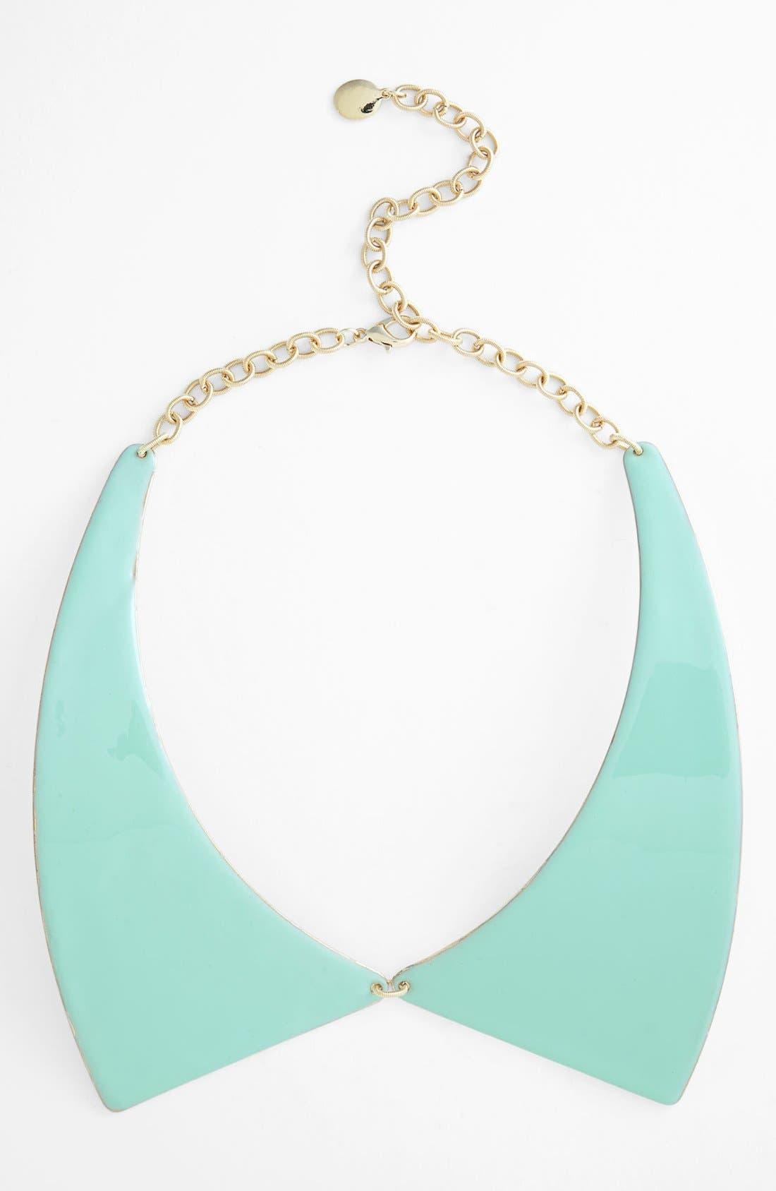 ,                             Metal Collar Necklace,                             Main thumbnail 3, color,                             330