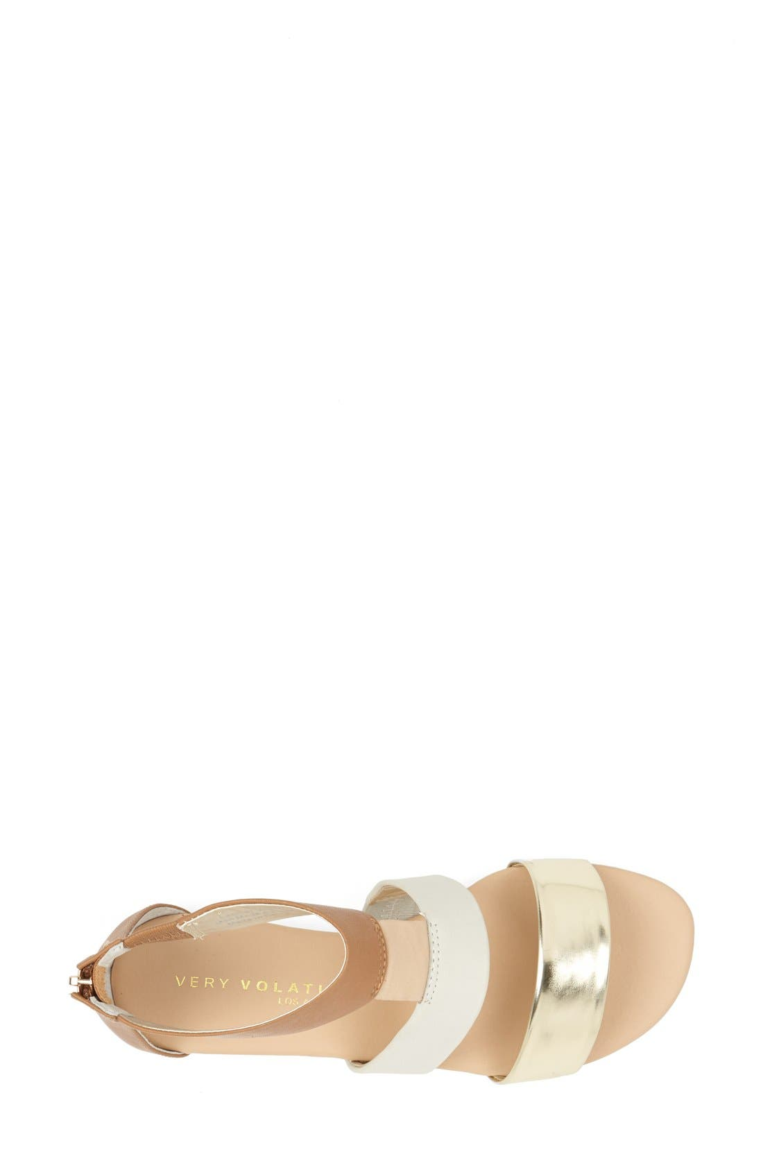 ,                             'Collective' Leather Sandal,                             Alternate thumbnail 7, color,                             230
