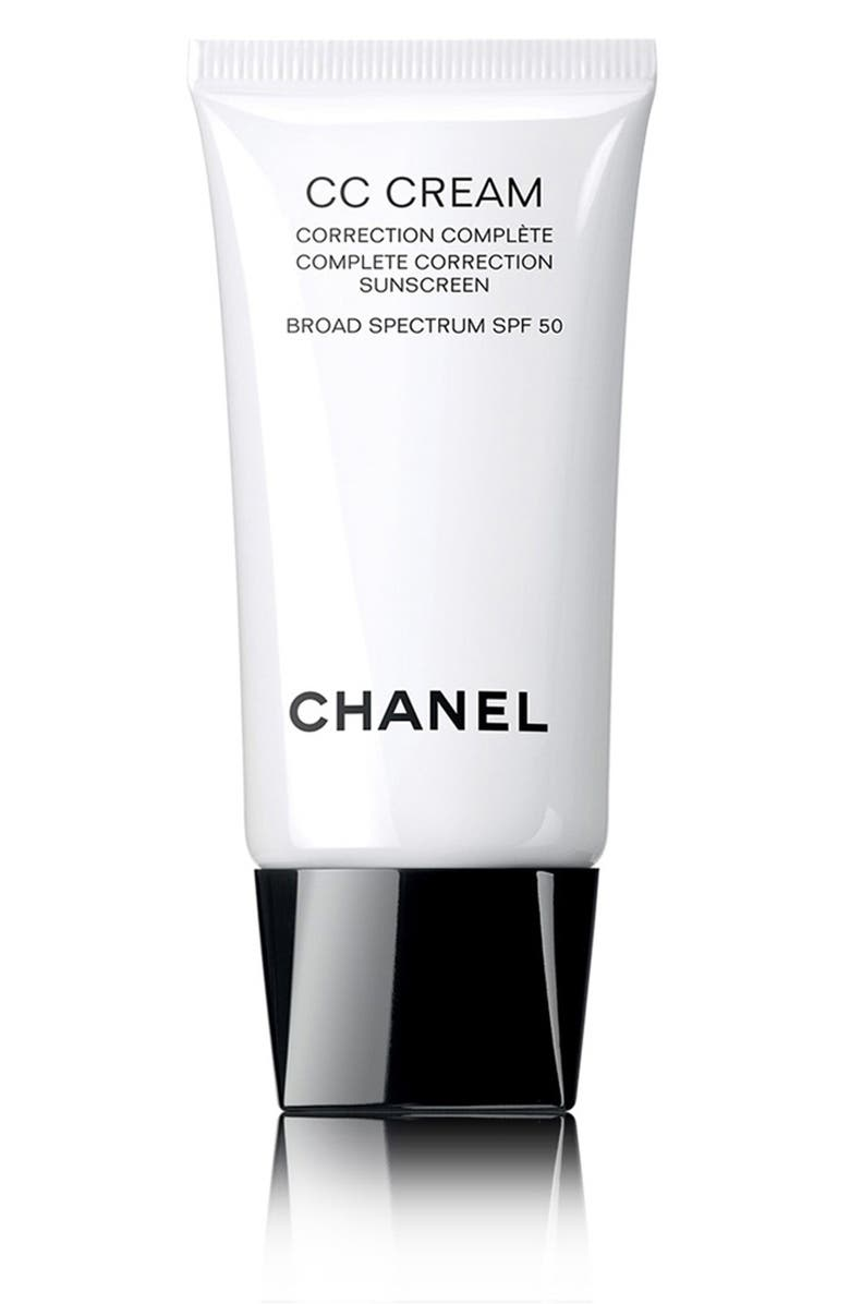 CHANEL CC CREAM <br />Complete Correction Sunscreen Broad Spectrum SPF 50, Main, color, 252