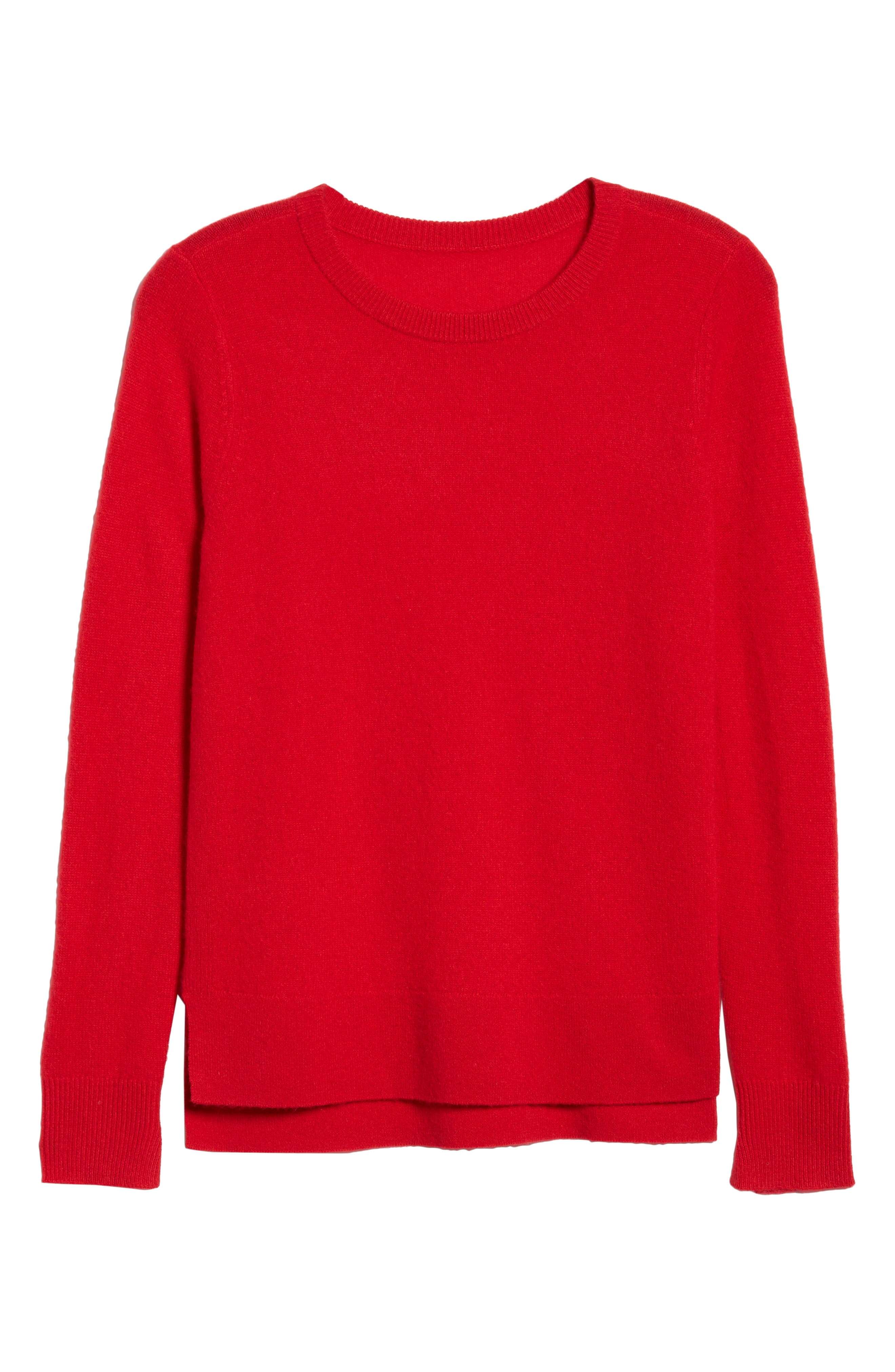 ,                             Crewneck Cashmere Sweater,                             Alternate thumbnail 149, color,                             610