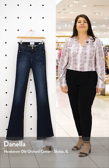 Le High Waist Flare Jeans, sales video thumbnail