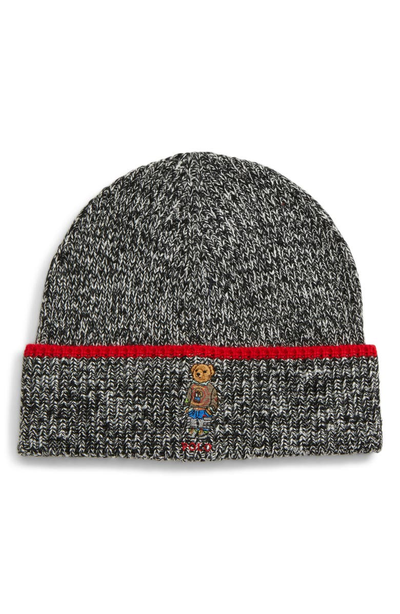 POLO RALPH LAUREN Hiking Bear Hat, Main, color, 001