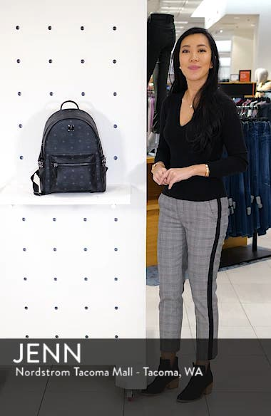 Medium Stark Side Stud Coated Canvas Backpack, sales video thumbnail