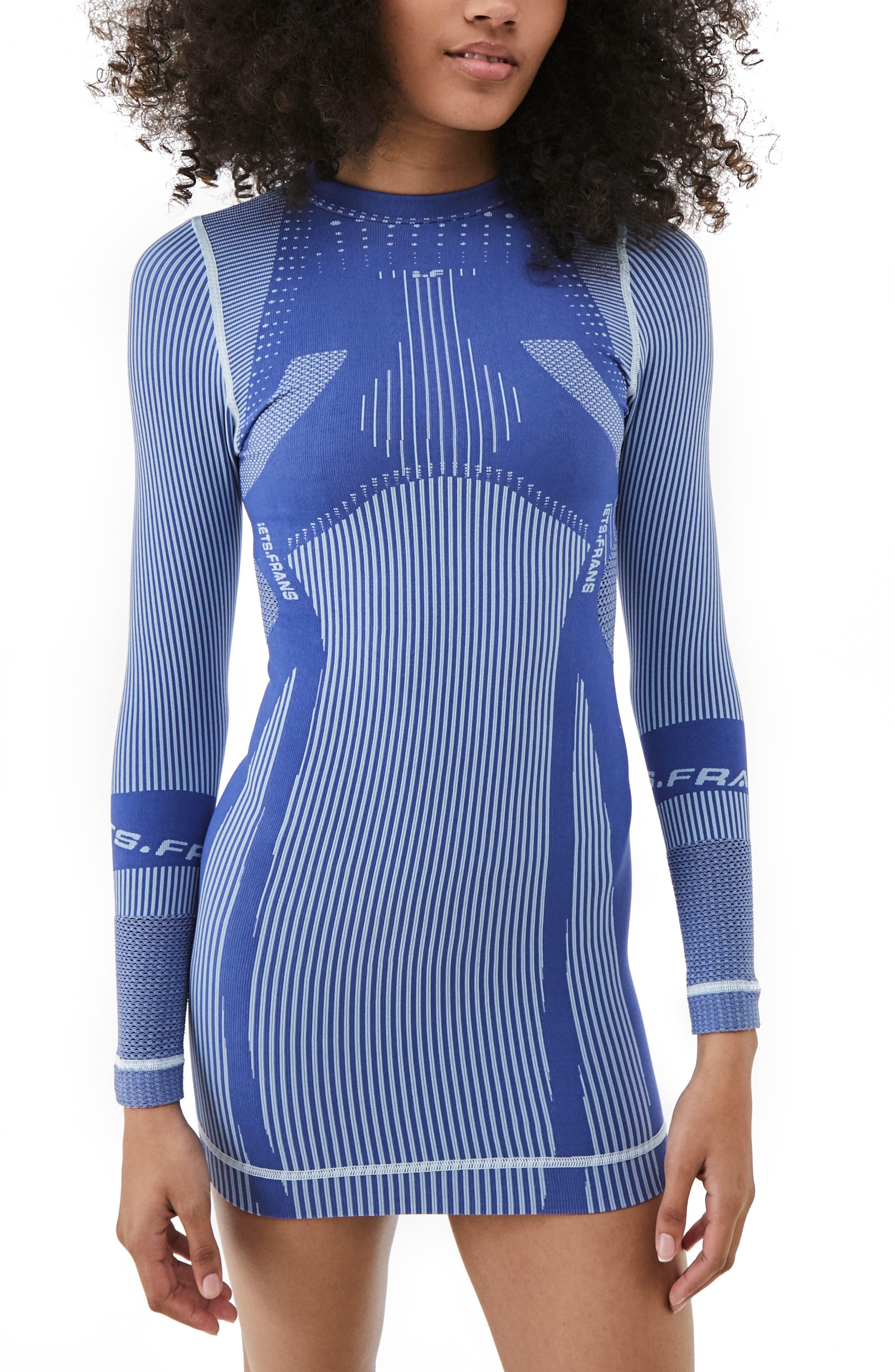 Seamless Long Sleeve Body-Con Dress
