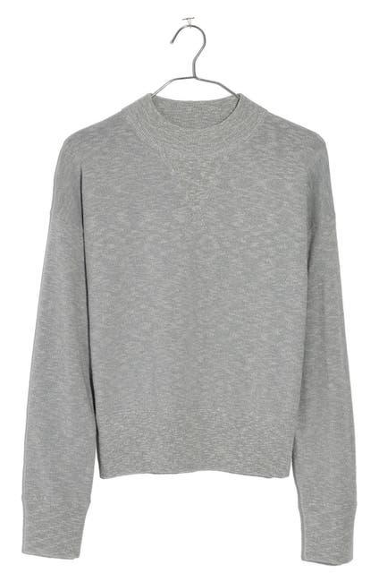Image of Madewell Relaxed Mock Neck Sweatshirt