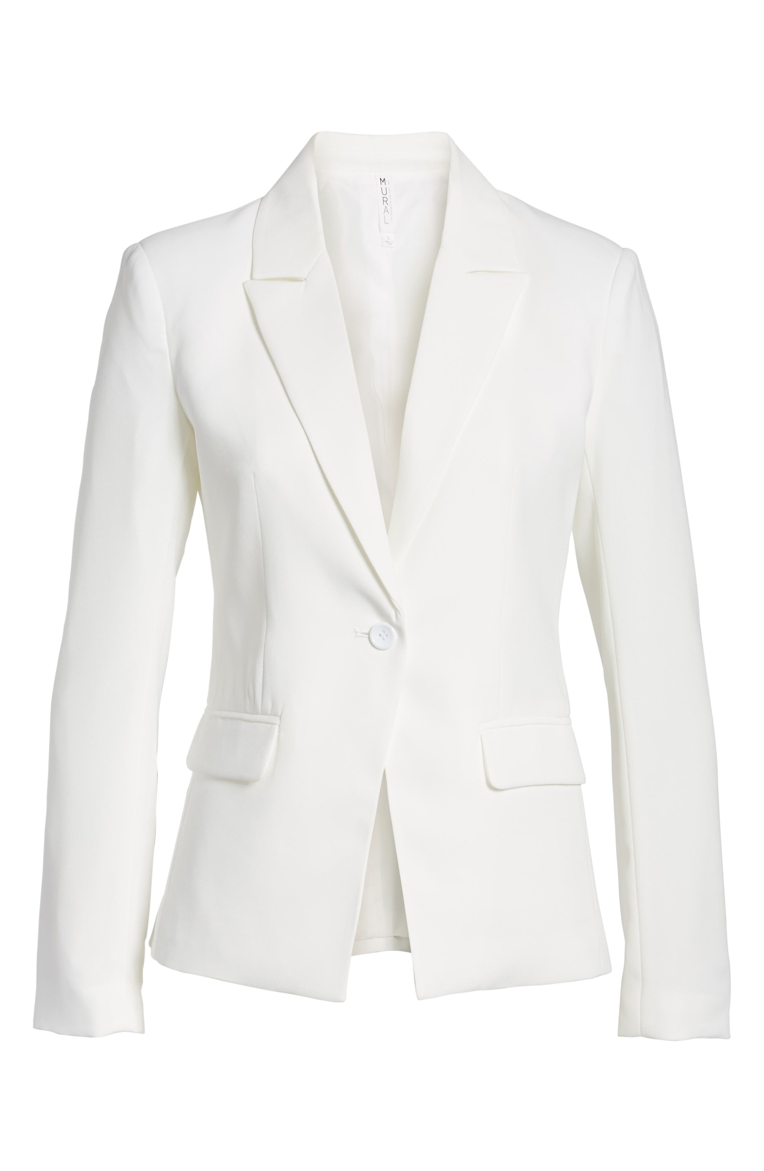 ,                             Structured Blazer,                             Alternate thumbnail 11, color,                             100