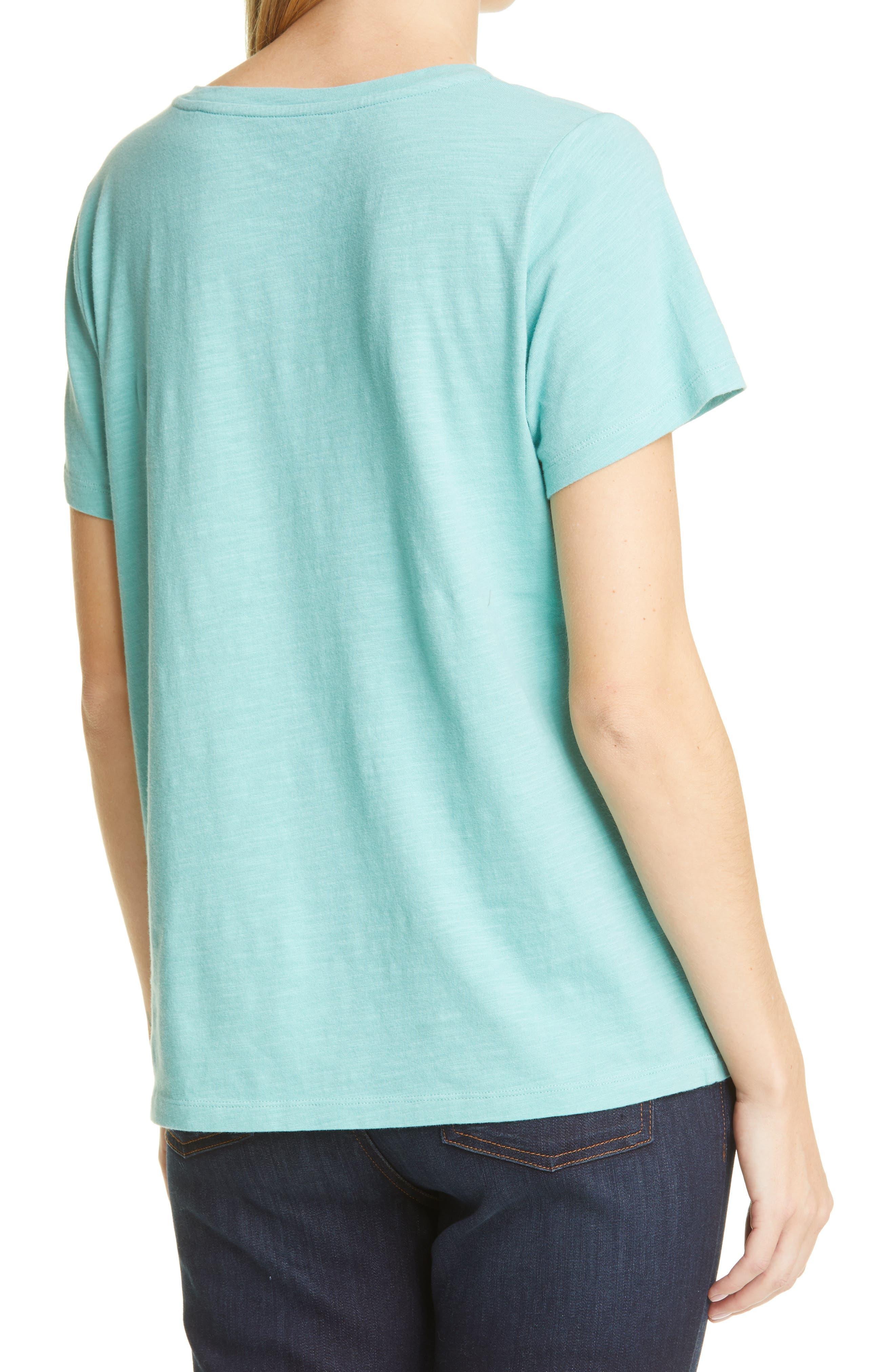 Eileen Fisher U-Neck T-Shirt   Nordstrom