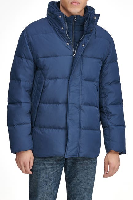 Image of Andrew Marc Carlton Packable Hood Quilted Puffer Jacket