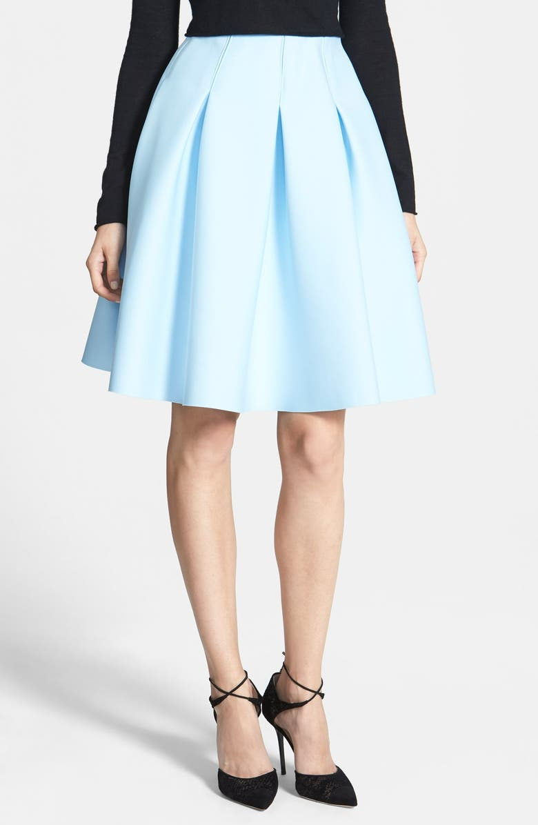 1.STATE Pleated Jersey Skirt, Main, color, 400