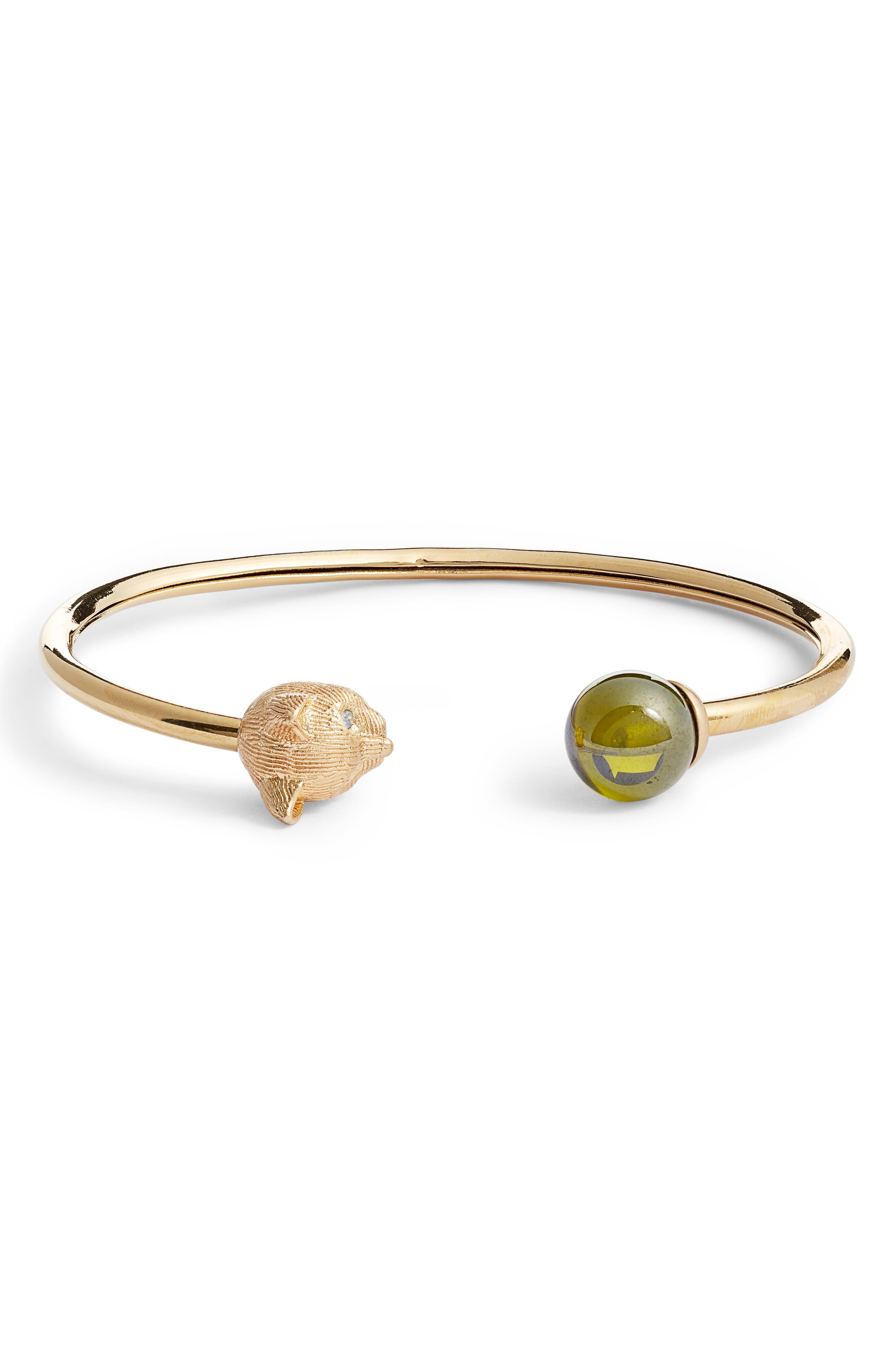 Kate Spade New York Jewelry house cat cuff bracelet