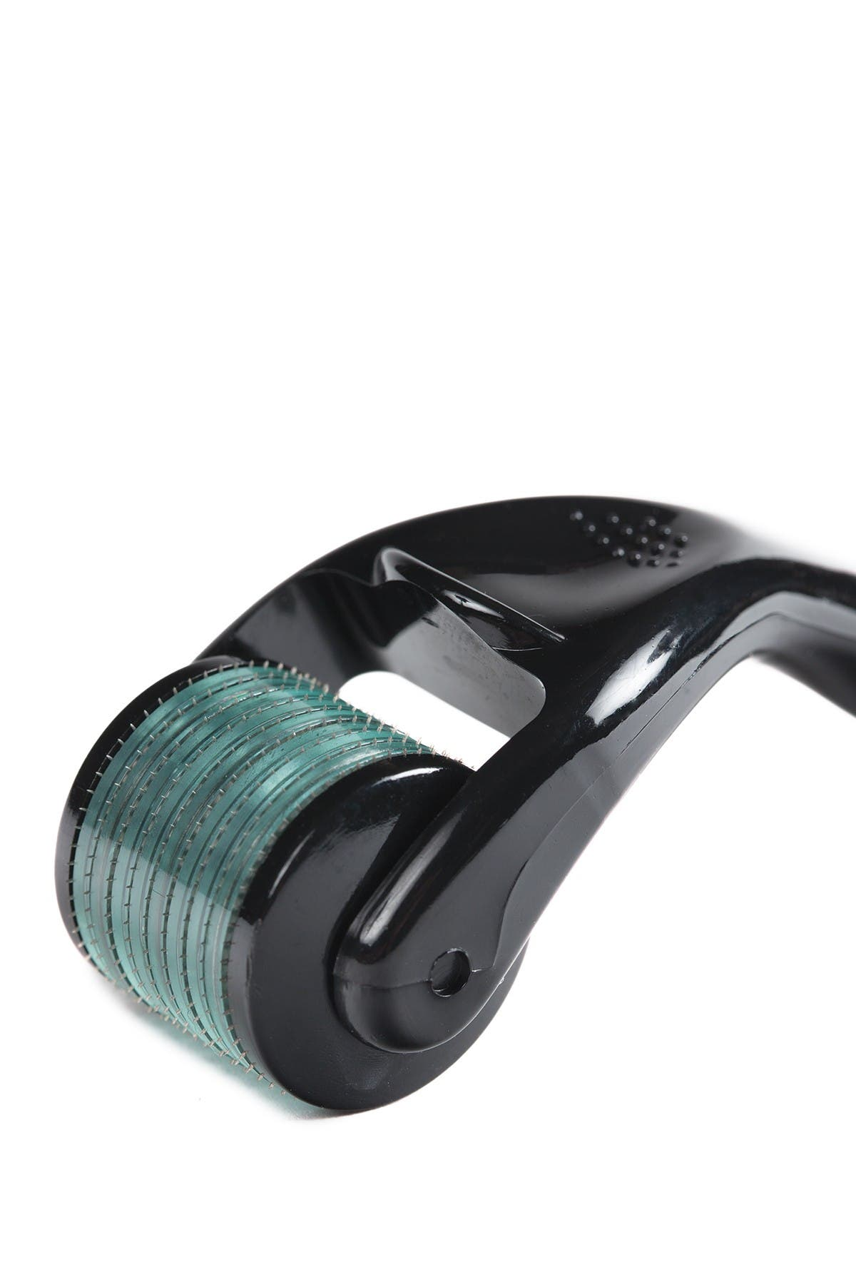 ORA Facial Microneedle Roller System - 0.25mm Needle Depth - Aqua Head/Black Handle