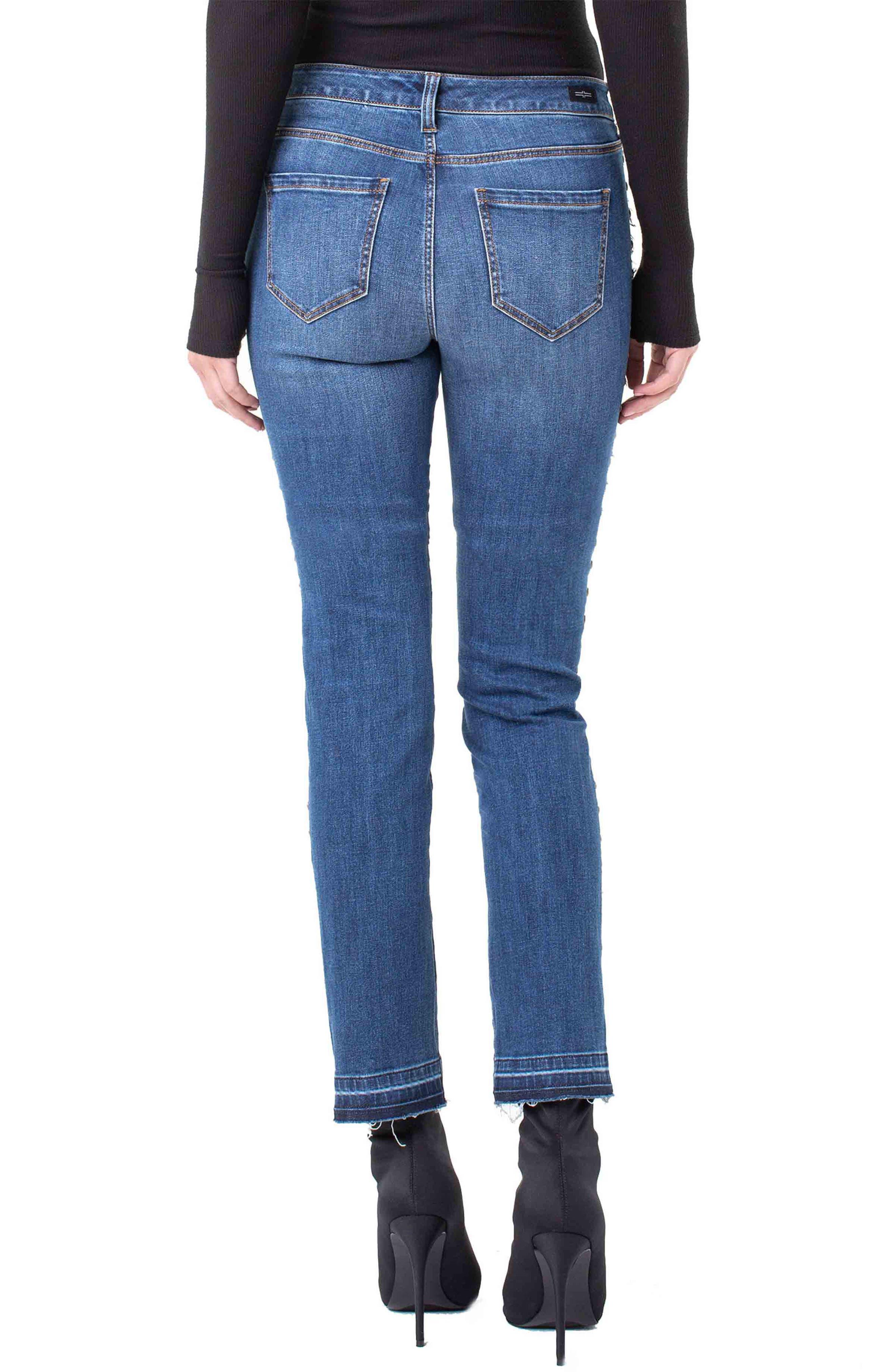 ,                             Colette Embellished Ankle Jeans,                             Alternate thumbnail 2, color,                             403