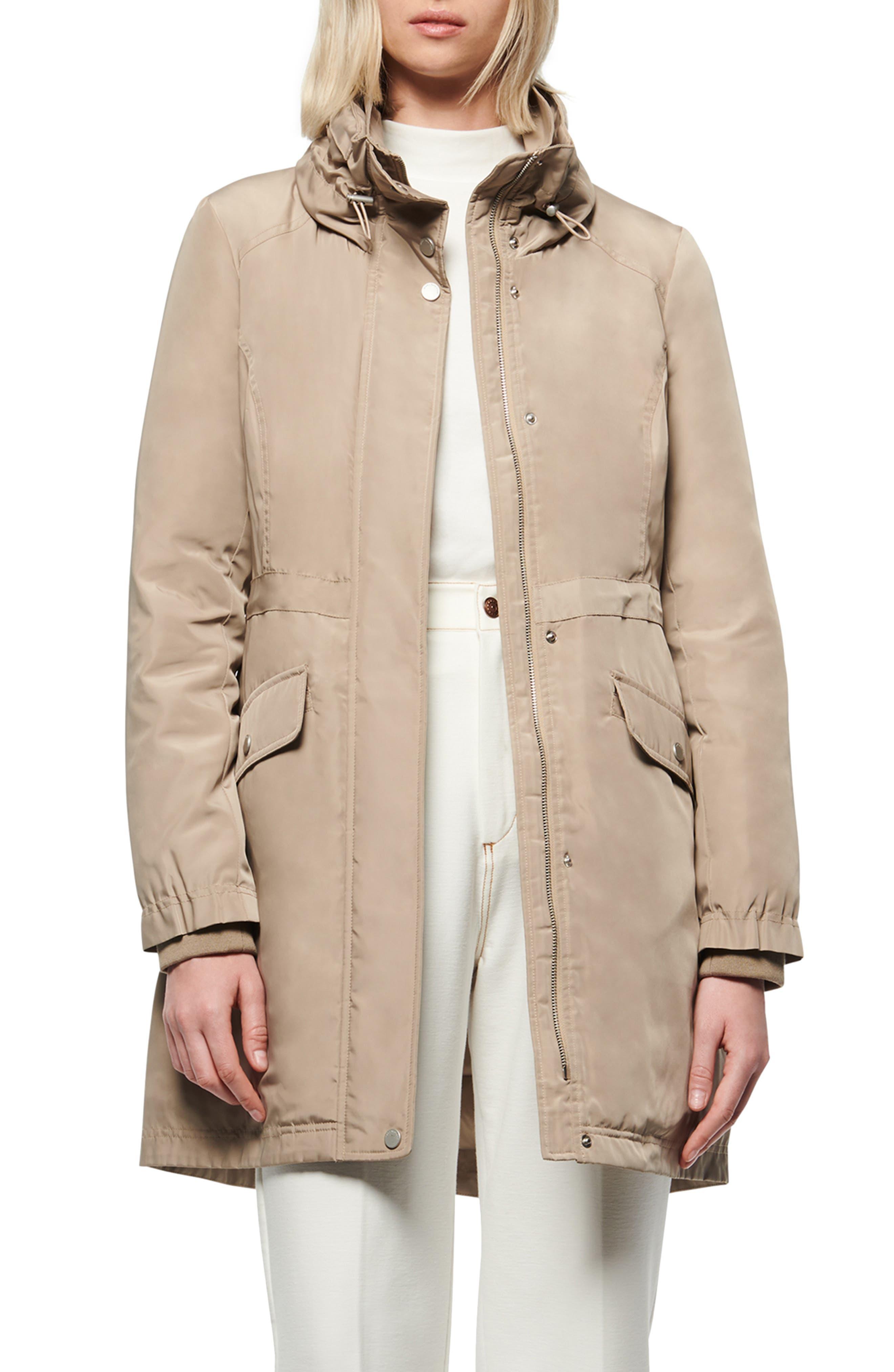 Marc New York Insulated Rain Coat