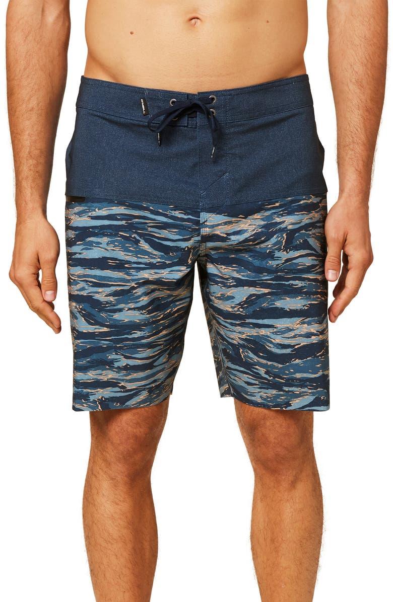 O'NEILL Hyperfreak Nomad Board Shorts, Main, color, NAVY