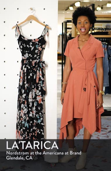 Hollie Floral Maxi Dress, sales video thumbnail