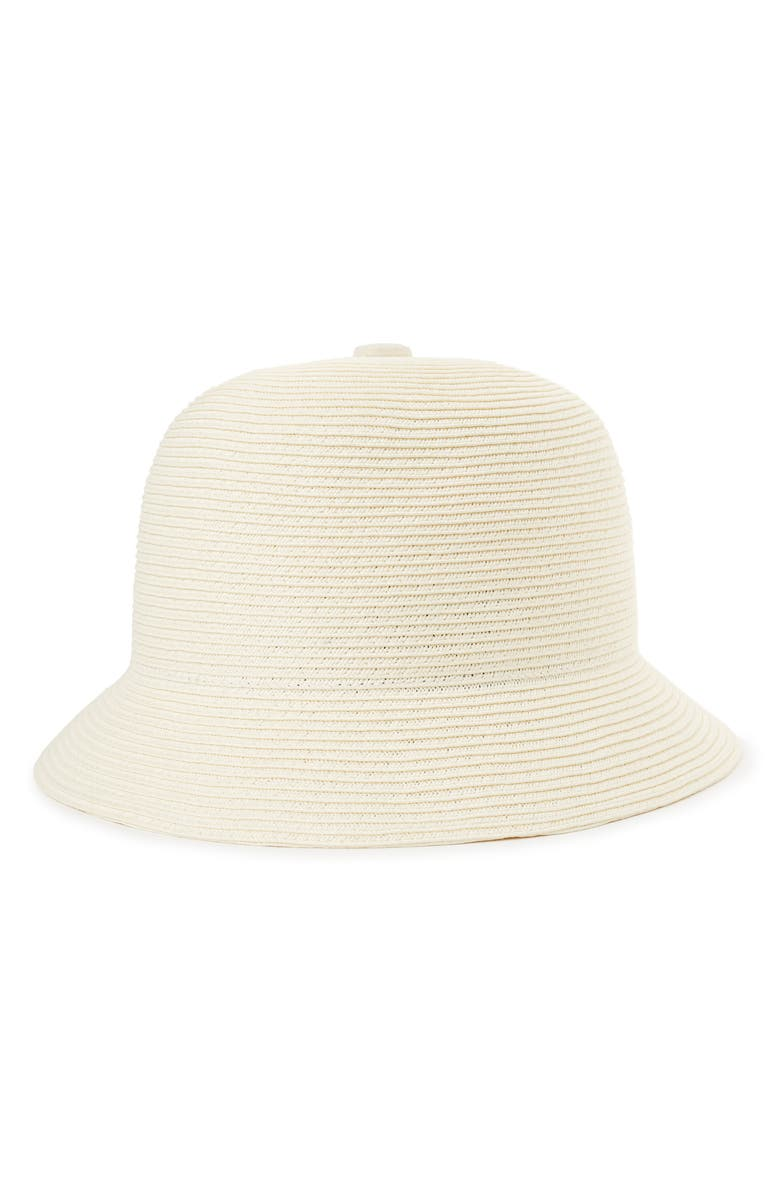 BRIXTON Essex Straw Bucket Hat, Main, color, TAN