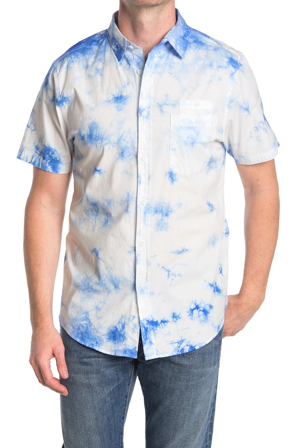 Image of Sovereign Code Printed Regular Fit Shirt