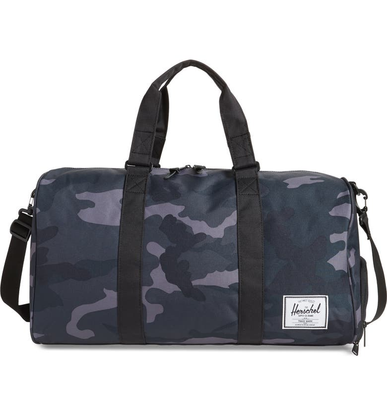 HERSCHEL SUPPLY CO. Novel Duffle Bag, Main, color, 001