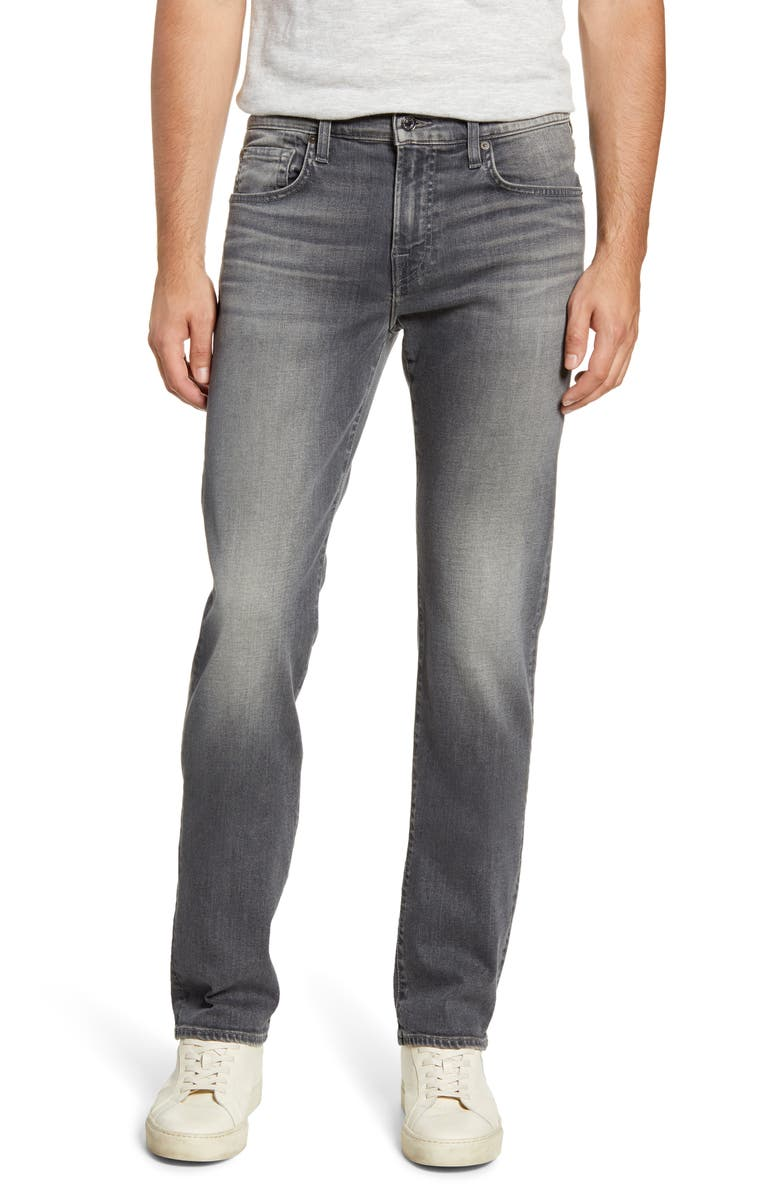 7 FOR ALL MANKIND<SUP>®</SUP> Slimmy Slim Fit Jeans, Main, color, CARBON