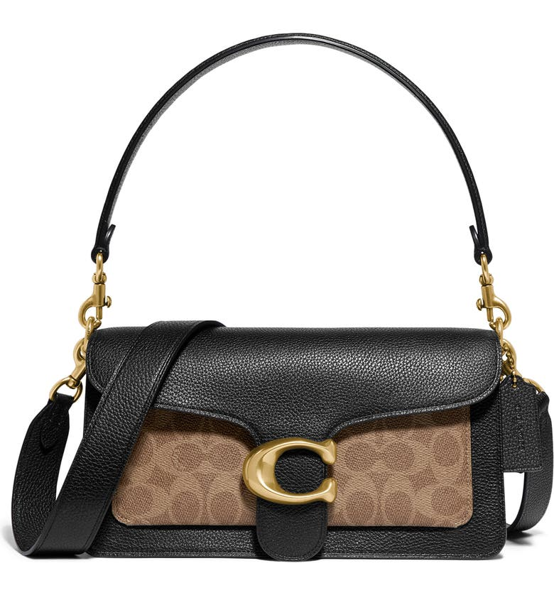 Coach Tabby Signature Canvas Leather Top Handle Bag Nordstrom