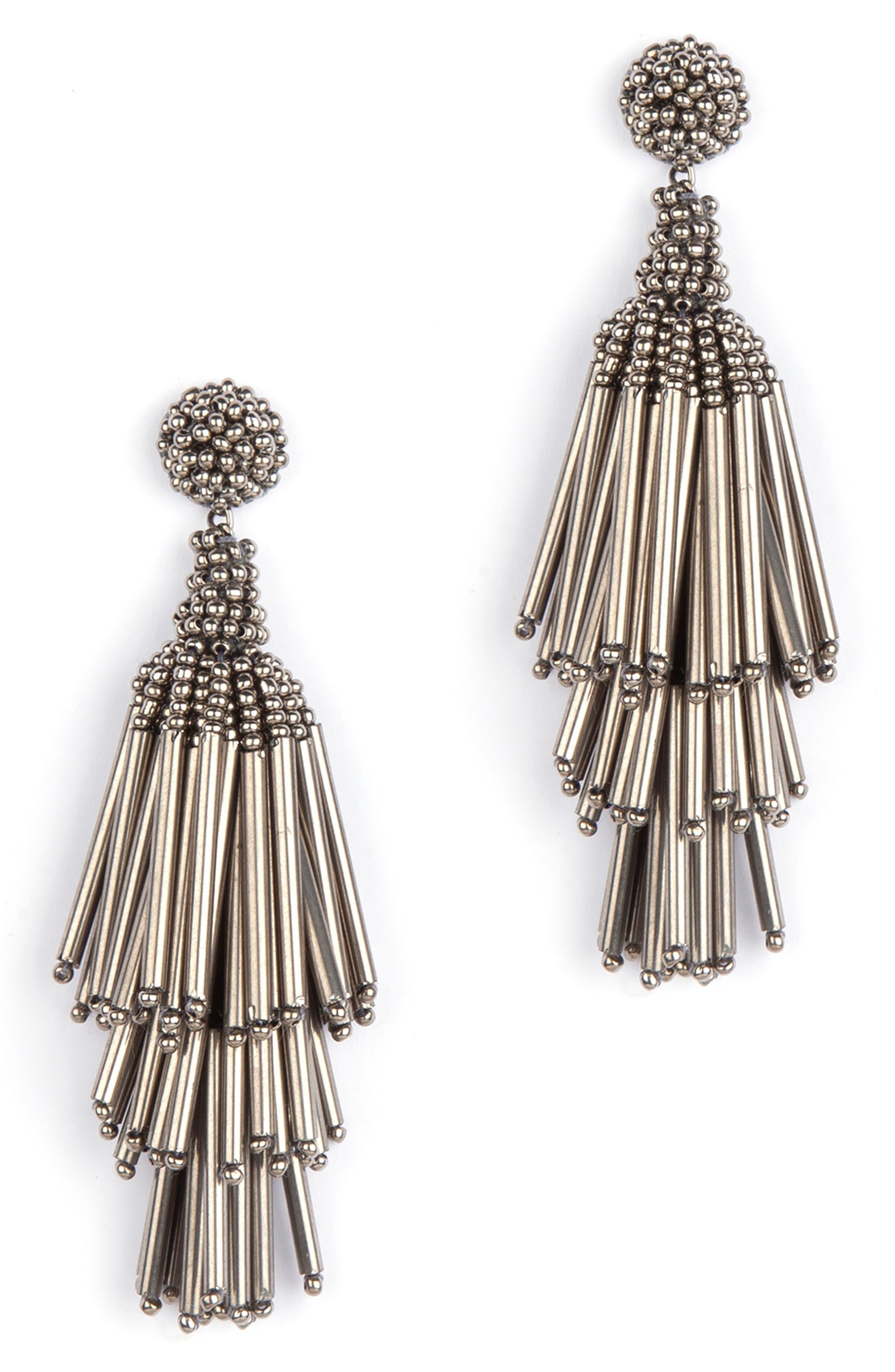 Rain Tassel Earrings