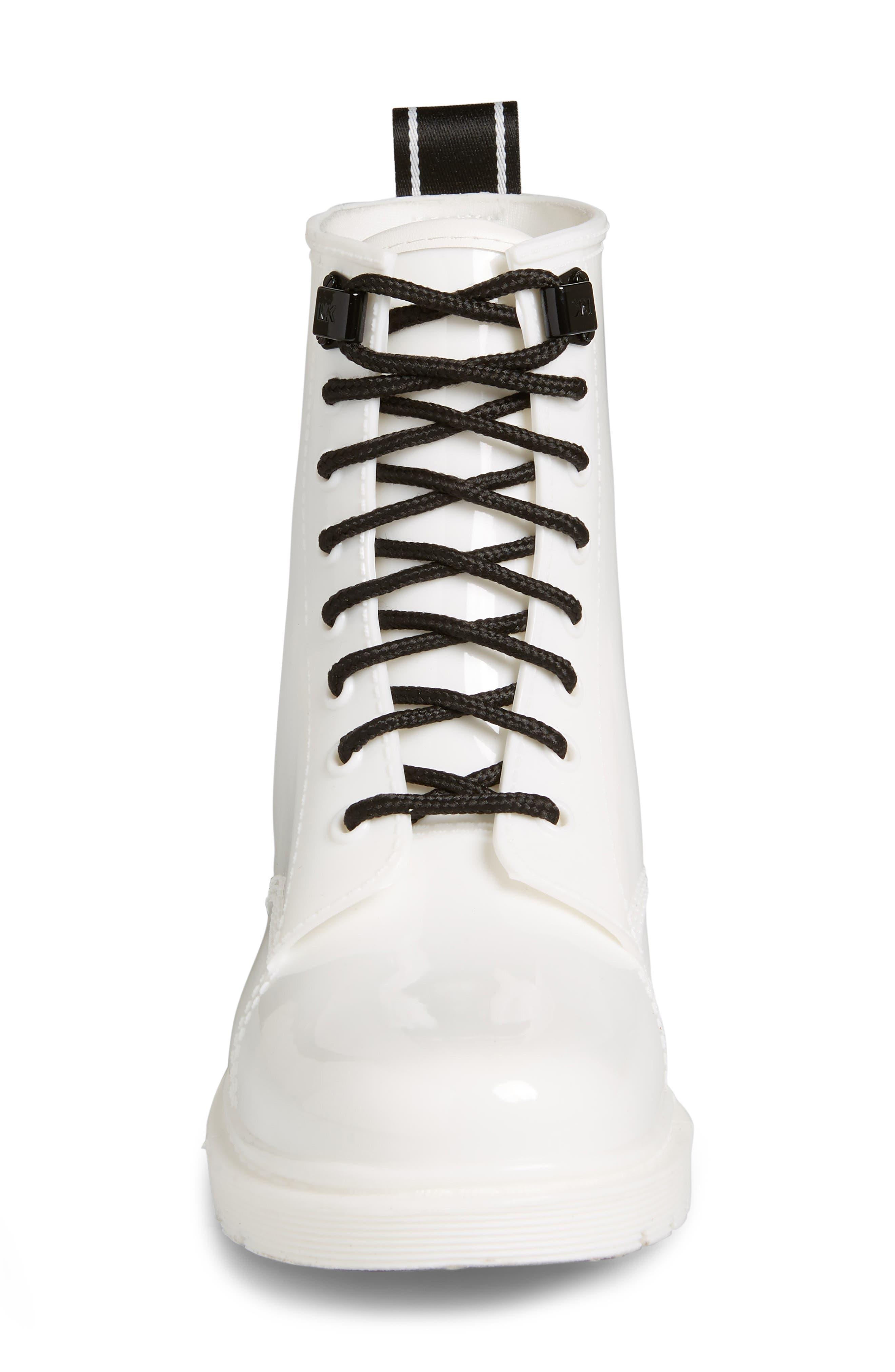 ,                             Tavie Rain Boot,                             Alternate thumbnail 4, color,                             OPTIC WHITE