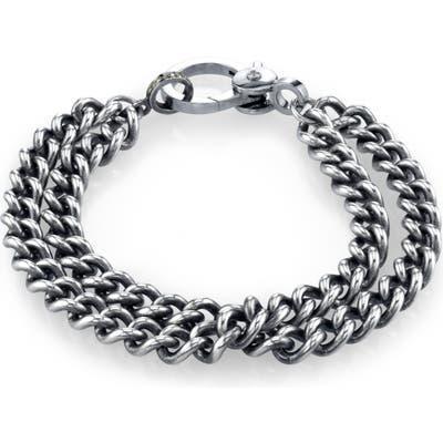 Sheryl Lowe Double Curb Chain Bracelet