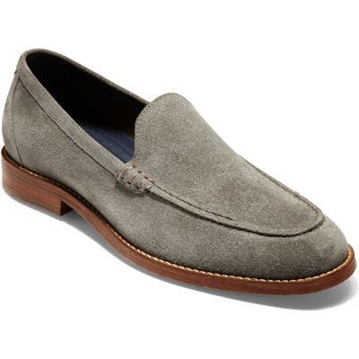 Cole Haan Feathercraft Grand Venetian Loafer- Grey