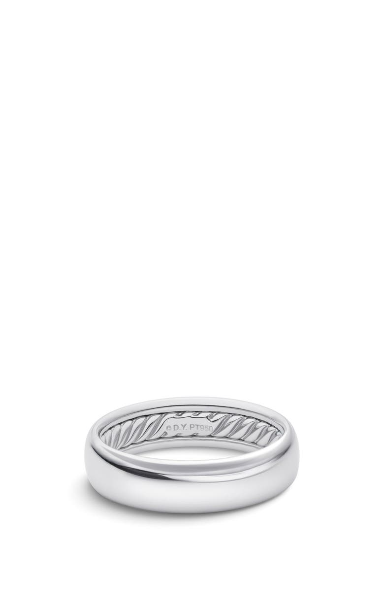 DAVID YURMAN DY Classic Band Ring in 18k White Gold, Main, color, WHITE GOLD
