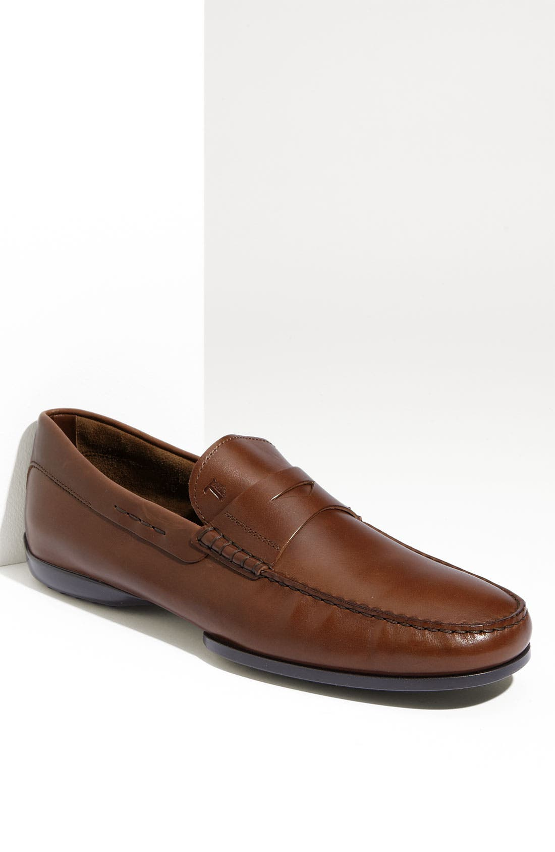 'Brooklyn' Penny Loafer, Main, color, 200