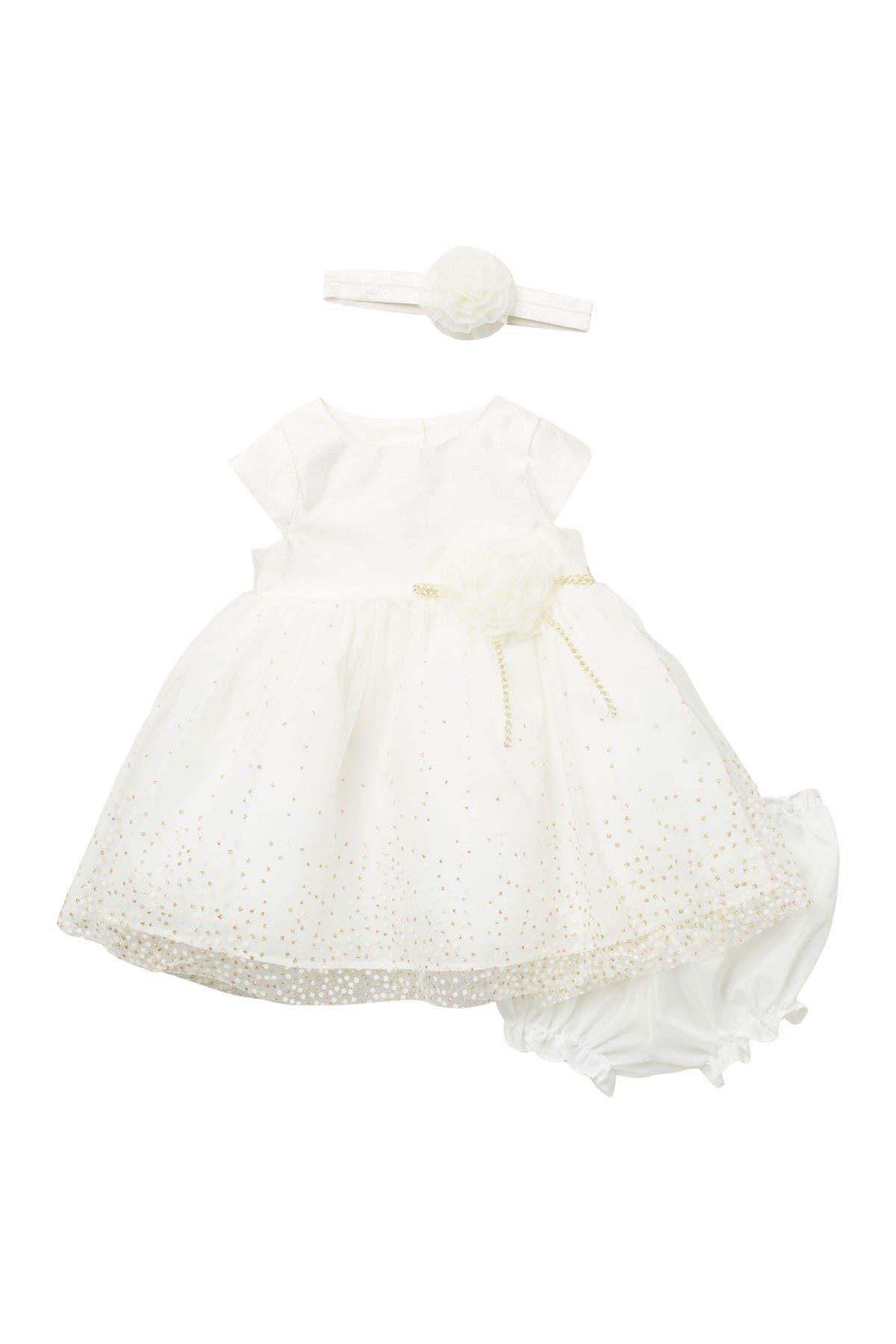 Image of Pippa & Julie Rosette Waist Dress 3-Piece Set