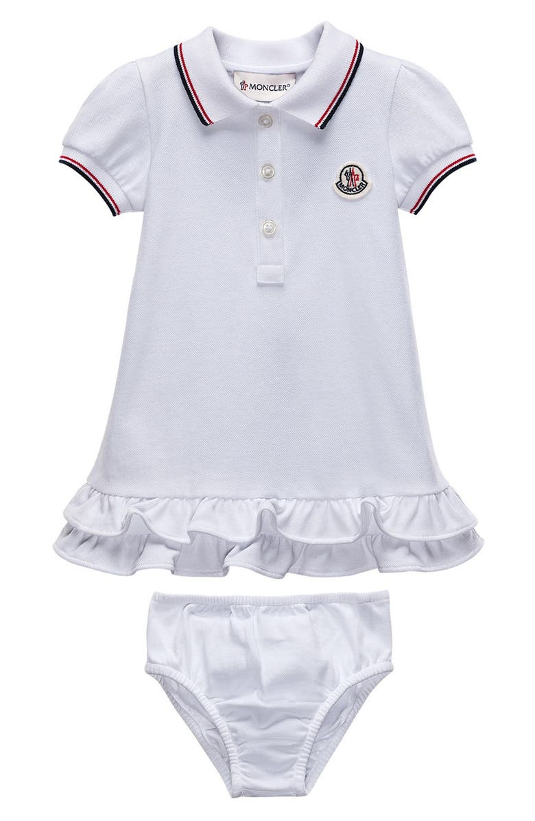 ff7d79db7 Moncler Polo Dress (Baby Girls) | Nordstrom