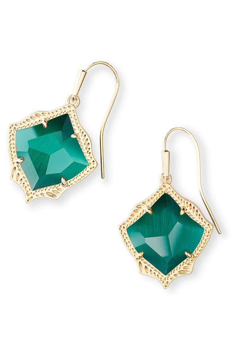 KENDRA SCOTT Kyrie Drop Earrings, Main, color, 305